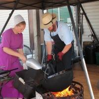 Une journée chez les Amish.....
