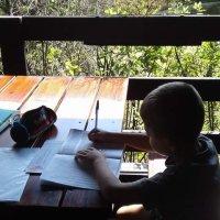 L'école en voyage: une année au Cned